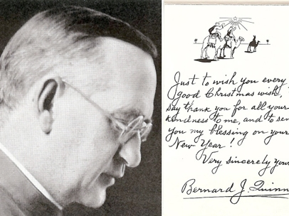 Personalized Christmas Card from Fr. Quinn
