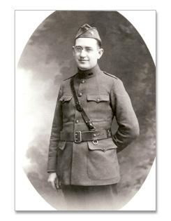 Fr Quinn as a Chaplain in France June 1918-1919