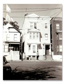 Father Quinn's boyhood home in Newark, NJ