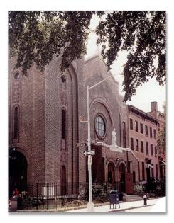 St Peter Claver Church in Brooklyn
