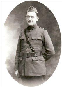 Msgr. Bernard J. Quinn as an Army chaplain